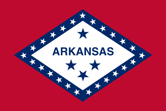 Bandiera dell'Arkansas