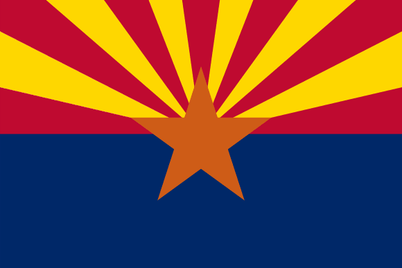 Bandiera dell'Arizona