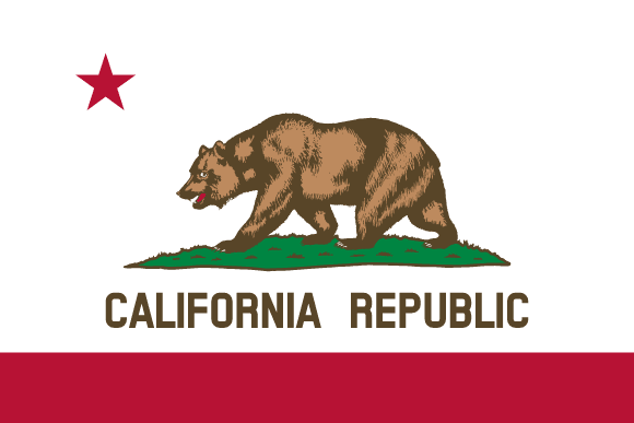 Californiens flag