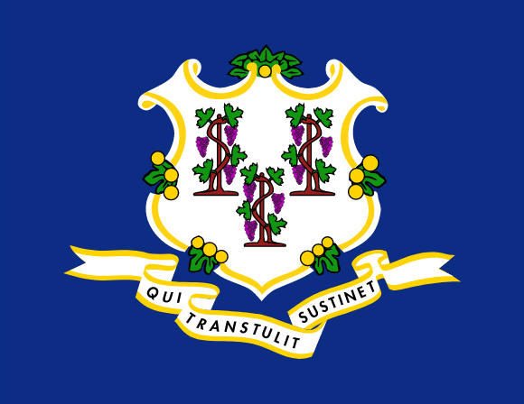 Connecticuts flagga