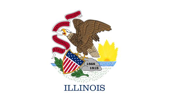 Illinois' flag
