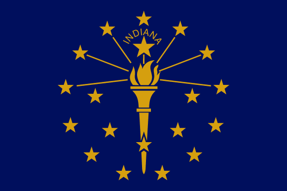 Bandeira do Indiana