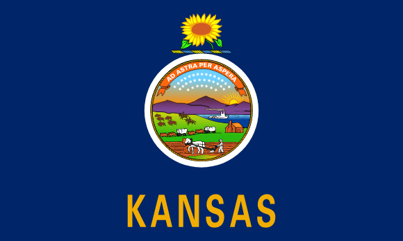 Flag of Kansas