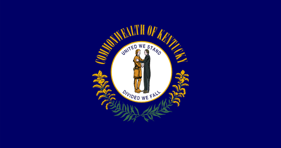 Bandera de Kentucky