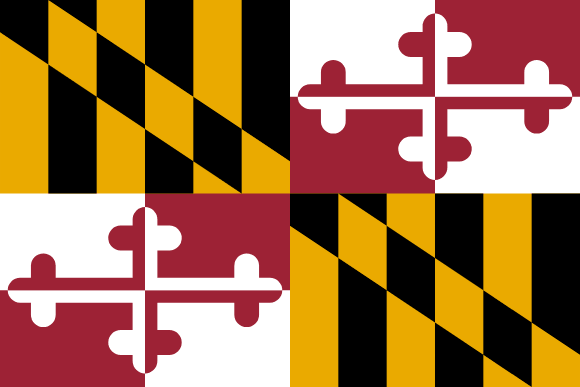Flagge Marylands