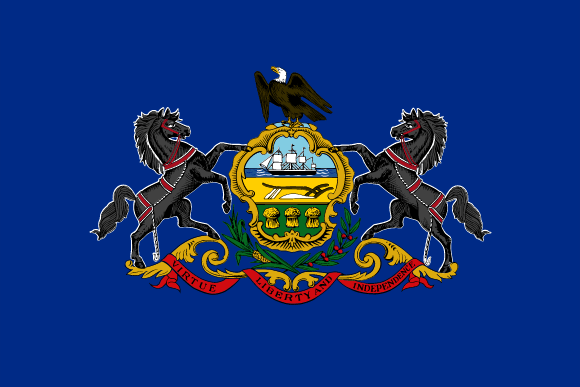 Pennsylvanias flag