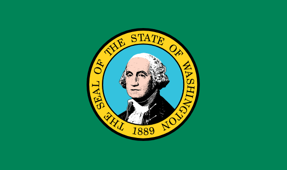Flagge Washingtons