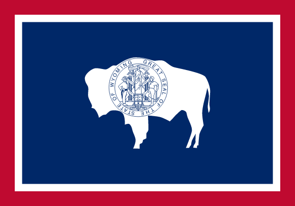 Vlajka: Wyoming